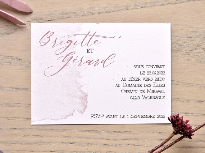 Carte Mariage Cm115410 Fairepartchic